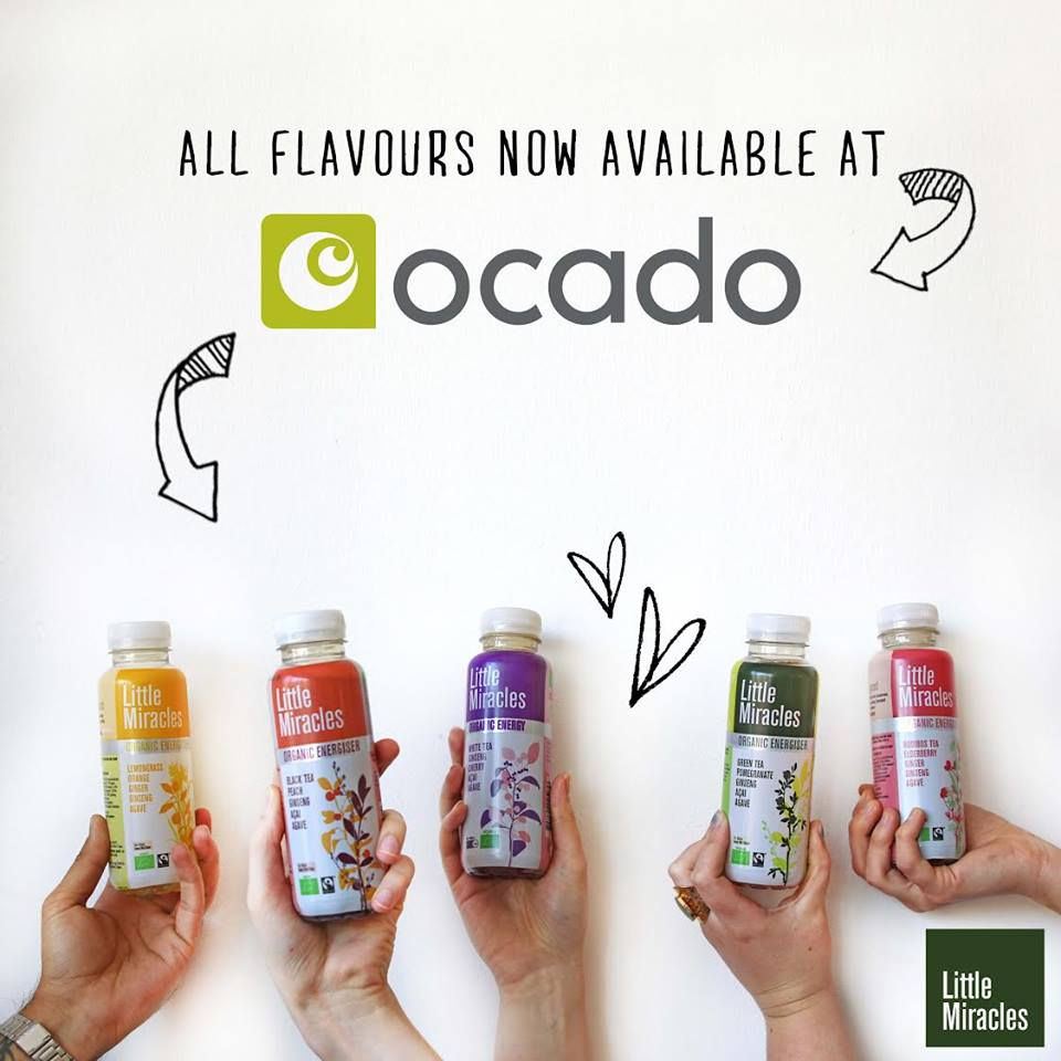 All Little Miracles flavours now available at Ocado